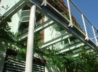 Glas Balkon Stehbalkon Als Glasbalkon Begehbarer Glasboden Direkt