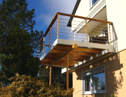 stehbalkon stahl balkon design balkon haengebalkon. Black Bedroom Furniture Sets. Home Design Ideas