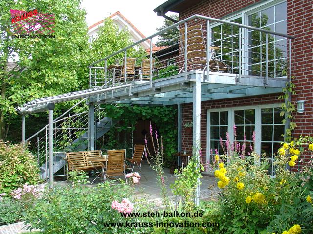Carport mit balkon kosten kreative ideen für innendekoration und