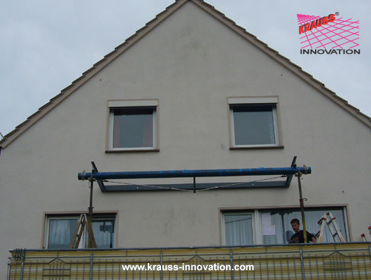 Haenge Balkon Am Altbau Staketengelaender Krauss Gmbh Krauss