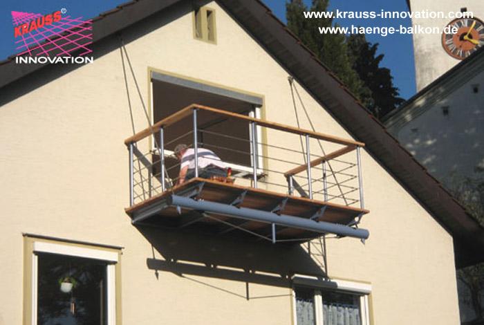 haenge balkon mit holzbelag in lindau von krauss gmbh d 88285 bodnegg rotheidlen. Black Bedroom Furniture Sets. Home Design Ideas