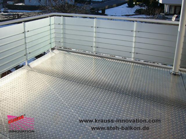 balkonsanierung balkone stehbalkon balkonbelaege gelaender balkonsanierung von krauss. Black Bedroom Furniture Sets. Home Design Ideas